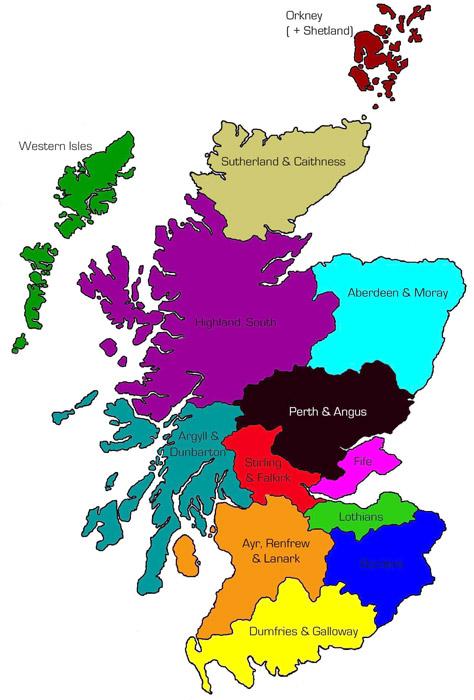 Zamki Zamki Szkocji