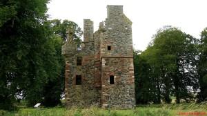 Wieże mieszkalno - obronne ulokowane naplanie litery L - Greenknowe Tower